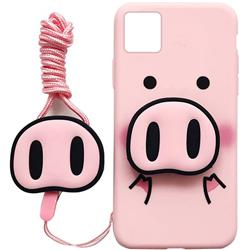FUNDA ANIMAL PINK PIG PARA IPHONE 11 PRO