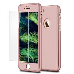 FUNDA 360 IPHONE 8 ROSA ORO GENERICA