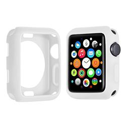 FUNDA IWATCH TPU 38MM BLANCO