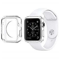 FUNDA IWATCH TPU 42MM TRANSPARENTE
