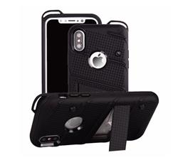 FUNDA TIPO ZIZO IPHONE X NEGRO