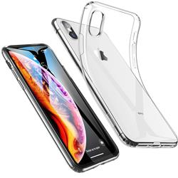 FUNDA SLIM TRANSPARENTE IPHONE XS MAX (SILICONA)